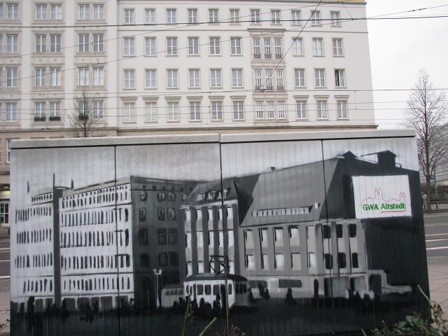 Schaltkasten am Ulrichshaus